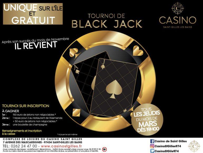 TOURNOIS BLACK JACK