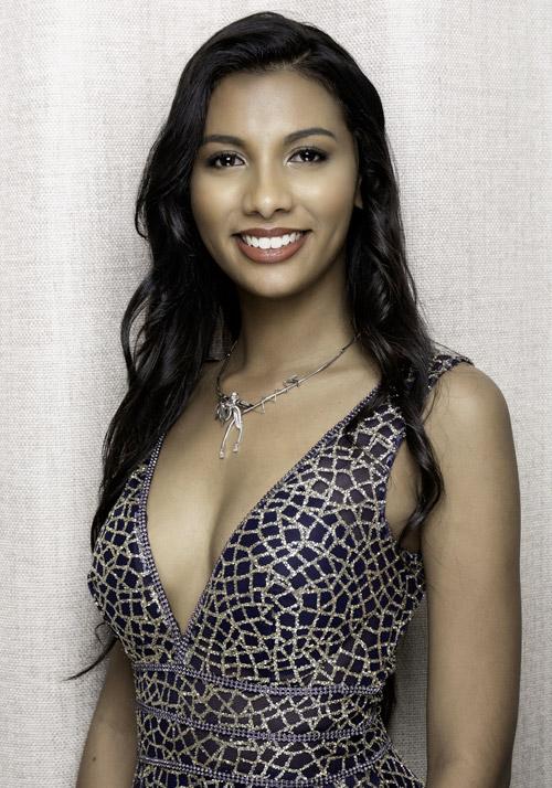 Election Miss Reunion Casino Saint GIlles candidate Emma Manerouck